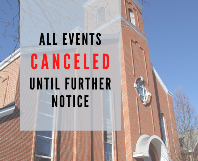 Events Canceled (1)